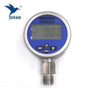 Inteligentni vakuumski digitalni tlačni merilnik, LCD, LED zaslon, 100MPa Gauge